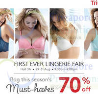 Read more about Triumph Lingerie Fair @ Singapore Expo 29 - 31 Aug 2014