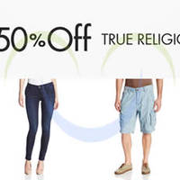 Read more about True Religion 50% OFF Denim For Women & Men 24hr Promo 7 - 8 Aug 2014