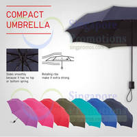 Uniqlo Now Offers Compact Umbrellas 22 Aug 2014