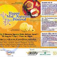 Velocity Novena Square Mid Autumn Mooncake Fair 25 Aug - 7 Sep 2014