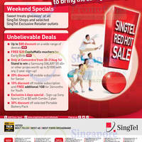 Singtel Smartphones, Tablets, Home / Mobile Broadband & Mio TV Offers 28 - 31 Aug 2014
