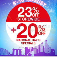 Read more about World of Sports 23% OFF Storewide Promo 8 - 10 Aug 2014