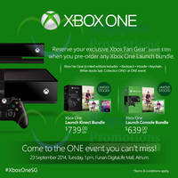 Read more about Xbox One Pre-Orders Now Open 15 Aug - 22 Sep 2014