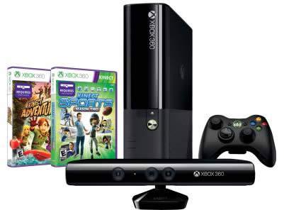 Xbox 360 4 GB Kinect Holiday Value Bundle