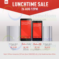 Xiaomi Redmi Note & Redmi 1S Restocked Sale 26 Aug 2014