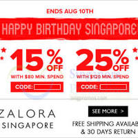 Read more about Zalora 25% OFF Storewide Coupon Code 8 - 11 Aug 2014