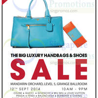 Read more about Brandsfever Handbags & Footwear Sale @ Mandarin Orchard 11 - 12 Sep 2014
