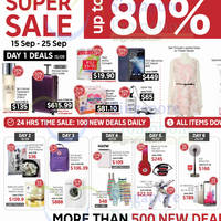 Rakuten Singapore Up To 80% OFF Super Sale 15 - 25 Sep 2014