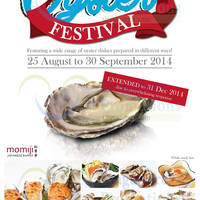 Read more about Momoji Japanese Buffet Oyster Festival 25 Aug - 31 Dec 2014