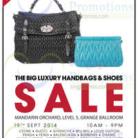 Brandsfever Handbags & Footwear Sale @ Mandarin Orchard 18 - 19 Sep 2014