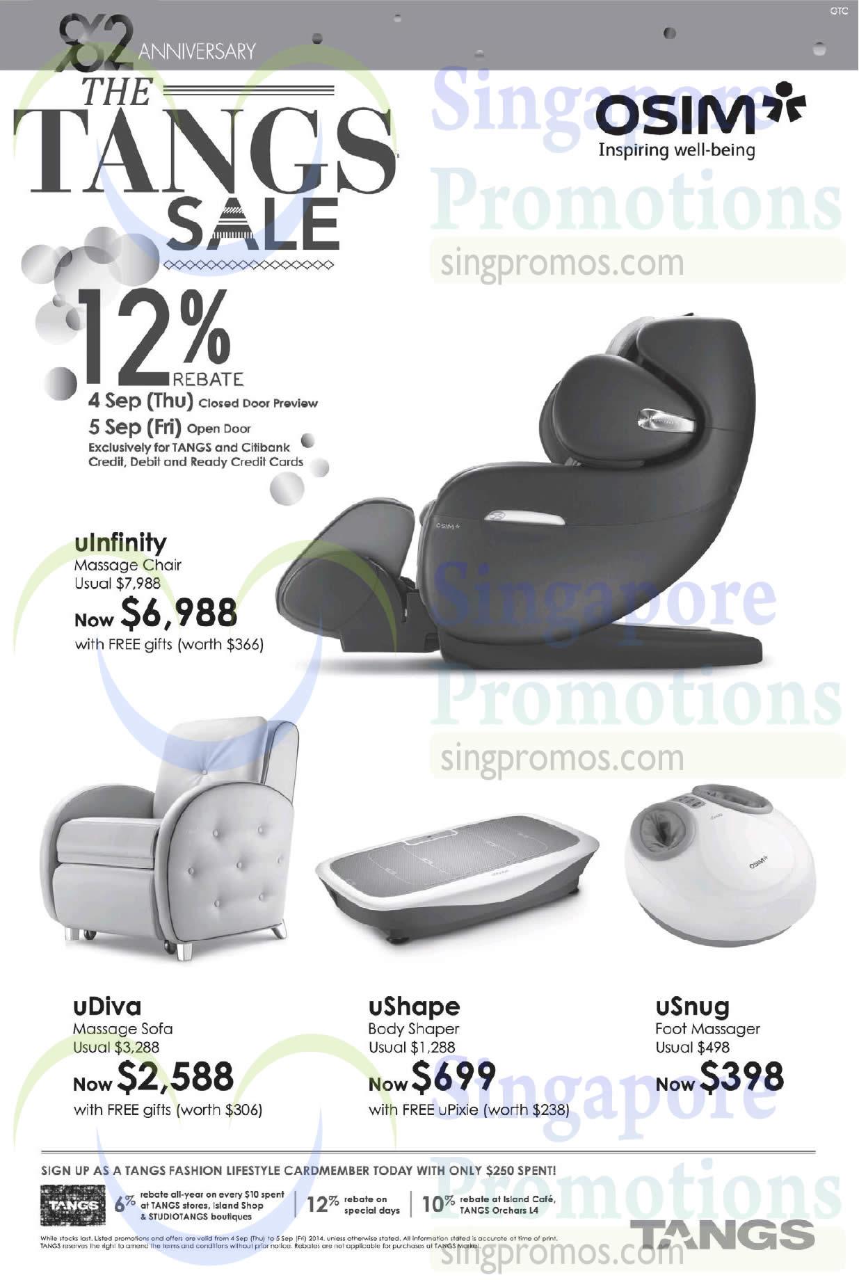 Osim massage chair price - Osim Massage Chair Price