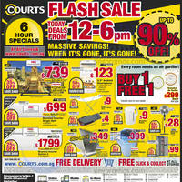 Read more about Courts Flash Sale Up To 90% Off Sale 26 Sep 2014