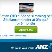 Read more about ANZ Switch Platinum Card Apply & Get Free OTO e-Shape Slimming Belt 7 Sep - 14 Nov 2014