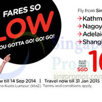 Read more about Air Asia Promo Air Fares 8 - 14 Sep 2014