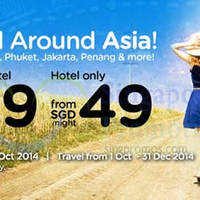 Air Asia Go $99 Flights + Hotels Promo 22 Sep - 5 Oct 2014