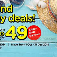 Read more about Air Asia Go From $49 Hotel Deals Promo 8 - 14 Sep 2014
