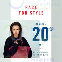 Read more about Aldo Shoes Spend $200 & Get 20% OFF 19 - 21 Sep 2014