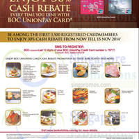 Read more about Bank of China 1 for 1 Dining & One Dines Free Promotions 18 Sep - 15 Nov 2014