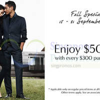Read more about Banana Republic Fall Special Promotion 15 - 21 Sep 2014