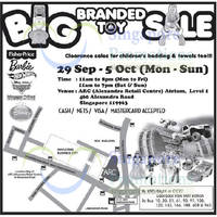Read more about Big Branded Toy SALE @ Alexandra Retail Centre 29 Sep - 5 Oct 2014