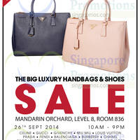Read more about Brandsfever Handbags & Footwear Sale @ Mandarin Orchard 26 Sep 2014