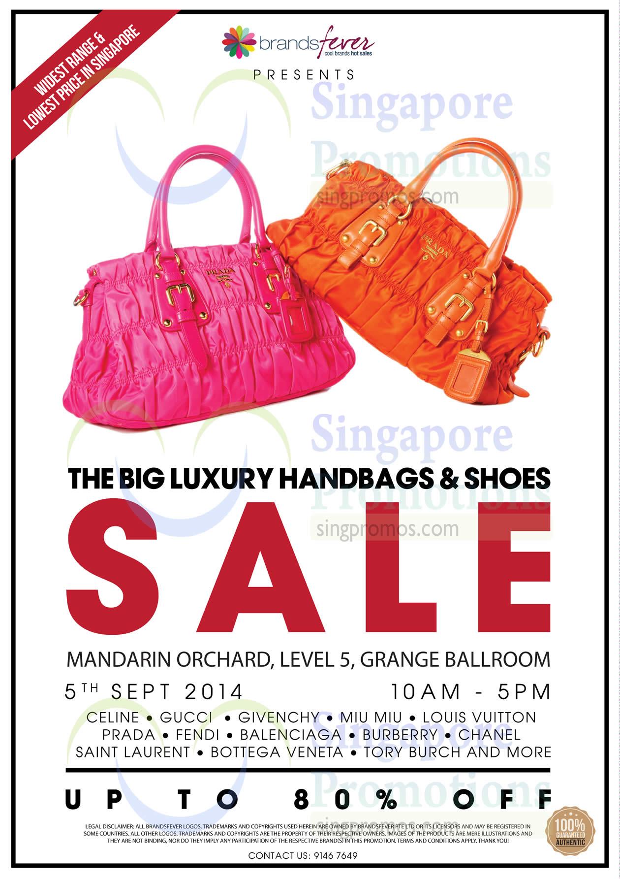 Brandsfever Sale 5 Sep