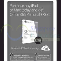 Read more about Challenger Buy Any iPad or Mac & Get Office 365 Personal Free 13 - 14 Sep 2014