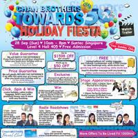Chan Brothers Towards 50 Holiday Fiesta @ Suntec 28 Sep 2014
