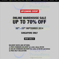 Charles & Keith Warehouse SALE 20 - 23 Sep 2014