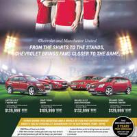 Read more about Chevrolet Captiva, Cruze, Malibu & Orlando Offers 13 Sep 2014
