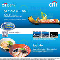 Read more about Santaro@Hinoki & Ippudo Specials For Citibank Cardmembers 28 Sep 2014