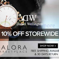 Read more about Daniel Wellington Up To 10% Off Online Promo 24 - 30 Sep 2014