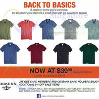 Read more about Dockers Polo Shirts Promotion 16 Sep 2014