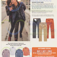 Read more about Dockers Buy 1 Get 1 Free Promo 26 - 30 Sep 2014
