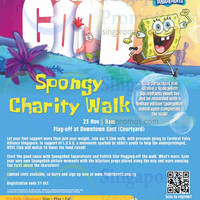 Read more about SpongeBob SquarePants Spongy Charity Walk Registration 12 Sep - 31 Oct 2014