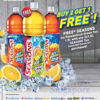 Read more about F&N Seasons Buy 2 Get 1 Free Promotion 18 - 24 Sep 2014