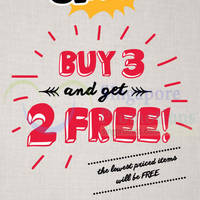 Fox Kids & Baby Buy 3 & Get 2 FREE Promo 2 Oct 2014