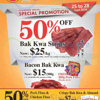 Read more about Fragrance Foodstuff Bakkwa & More Promo Offers 25 - 28 Sep 2014