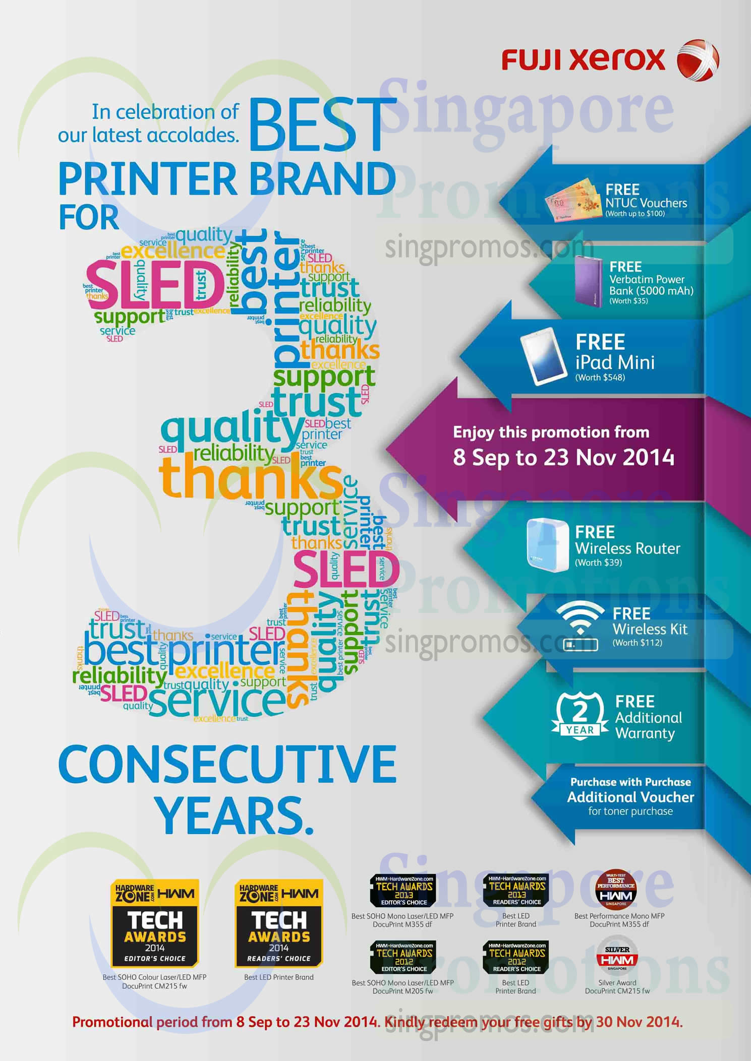 Fuji Xerox September Promotions