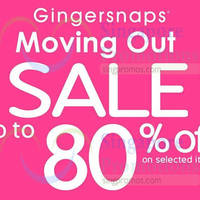 Read more about Gingersnaps Moving Out Sale @ Parkway Parade 1 - 23 Sep 2014