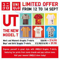 Read more about Uniqlo Islandwide Limited Offers 12 - 14 Sep 2014