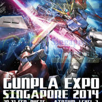 Gunpla Expo @ Bugis+ 10 - 21 Sep 2014