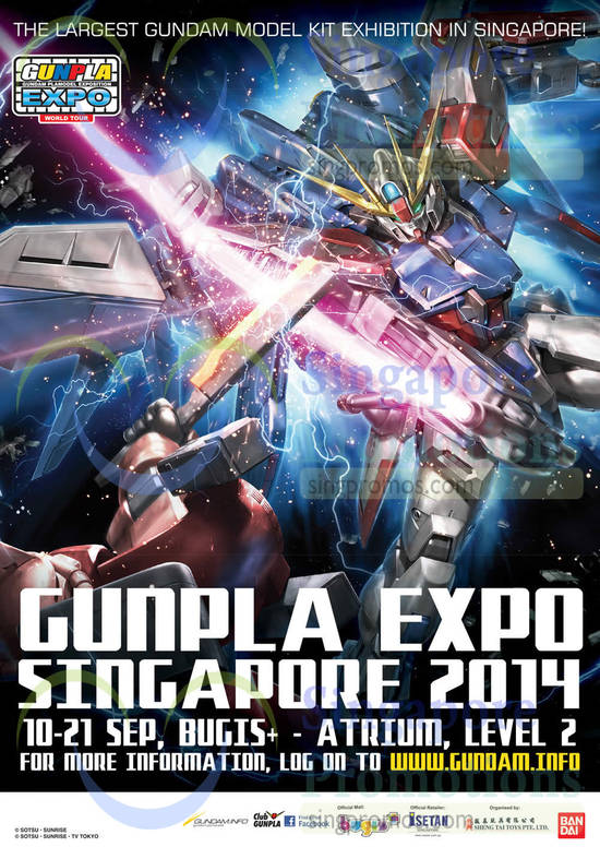 Gunpla Expo Singapore 2014