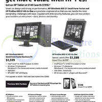 HP Business Desktop PC Offers 17 Sep 2014