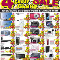 Read more about Harvey Norman Cheap Cheap Sale @ Djitsun Mall & Bedok Point 11 - 14 Sep 2014