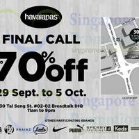 Read more about Havaianas Sale @ BreadTalk IHQ 29 Sep - 5 Oct 2014