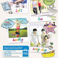 National Healthy Lifestyle Campaign 3 - 26 Oct 2014