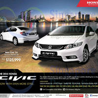 Read more about Honda New Civic 1.6 Price & Features 27 Sep 2014