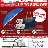 Hush Puppies Up To 80% OFF Annual Warehouse SALE 25 Sep - 13 Oct 2014