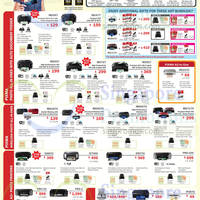 Canon Inkjet & Laser Printers & Scanners Promotion Offers 17 Sep - 31 Oct 2014